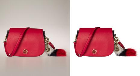 Background-removal-service-of-bag-image-with-fur-edge