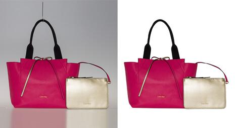 Clipping-path-aplied-on-ladies-hand-bag-and-parse
